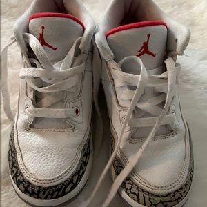 Boys Jordan 3 Retro size 1Y